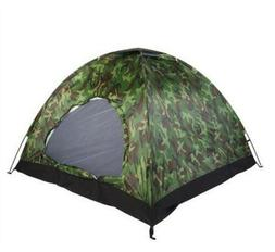 1-4 Person Portable Outdoor Camping Camouflage Tent Outdoor