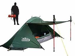 camppal 1 Person Tent Backpacking Camping Hiking Mountain Te