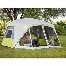 CORE 10-person Instant Cabin Tent with Screen Room, Camping