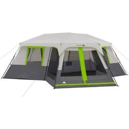 Ozark Trail 12-Person 3 Room Instant Cabin Tent with Screen