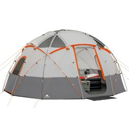 Ozark Trail 12-Person Base Camp Tent with Light   BRAND NEW