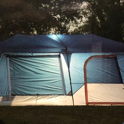 🔥 12 Person Instant Camping Tent Integrated LED Lights 10
