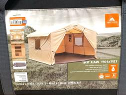 Ozark Trail 12' x 10' Wall Tent Outfitter Camping Sleeps 6 N