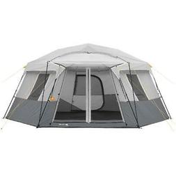 Ozark Trail 17' x 15' Large Hexagon Tent Camping Fold Out Po