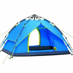 2-3 Person Camping Dome Tent Instant Pop Up Waterproof Doubl