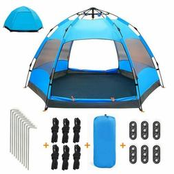 2-3 Person Camping Instant Tent Automatic Pop Up Tents Water