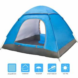 Amagoing 2-3 Person Tents For Camping Automatic Pop Up Water