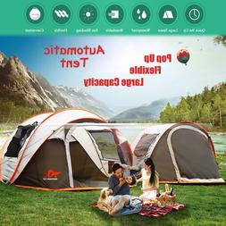 2-8 People Fully Automatic Camping <font><b>Tent</b></font>