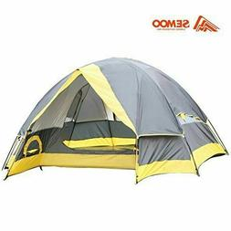 Semoo 2 Person Lightweight Dome Tent with Compression Bag No