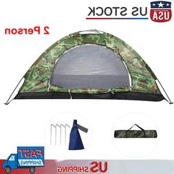 2 Person Outdoor Camping Waterproof 4 Season Family Tent Cam