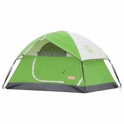 Coleman 2 Person Sundome Tent Polyester Camping Fishing Hunt