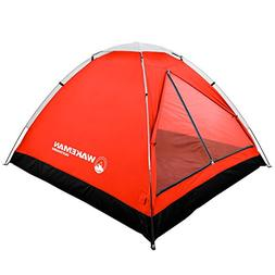 2-Person Tent, Water Resistant Dome Tent for Camping With Re