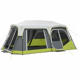 CORE 2 ROOM 12 PERSON INSTANT CABIN TENT WITH SIDE ENTERANCE