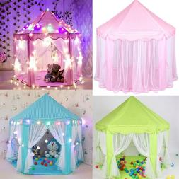 2018 Princess Castle Play House, Large Indoor/Outdoor Kids P
