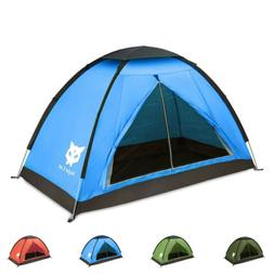 2020 Waterproof Backpacking Tent for 1-2 Person Hiking Campi