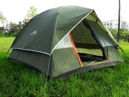3/4 People Camping Tent Trekking Hiking All-season Use Doubl