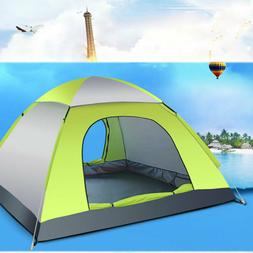 3-4 Person Camping Hiking Easy Folding Automatic Pop Up Inst