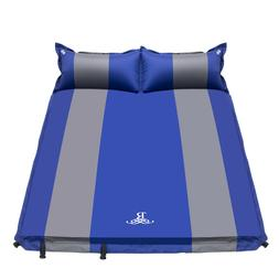 5CM Double Self Inflating Pad Sleeping Mattress Air Bed Camp