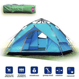 Likorlove 3 Person Camping Tent, Automatic Pop Up 3 Season,