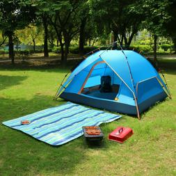 3 person tent instant pop up camping