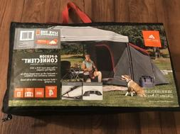 4-Person ConnecTent for Straight-Leg Canopy Tent Camping Out