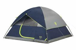 Coleman 4-Person Dome Tent for Camping | Sundome Tent with E