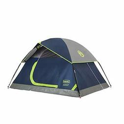 Coleman 4-Person Dome Tent for Camping   Sundome Tent with E