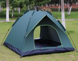 4-person Ultralight Pop Up Tent Camping Outdoor Family Hikin