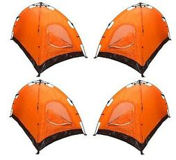 4 TENTS 2-person Instant Automatic Pop Up Backpacking Campin