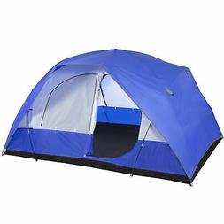 5 Person Camping Tent Family Outdoor Sleeping Dome Water Res