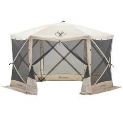 Gazelle 21500 G6 Pop-Up Portable 6-Sided Hub Gazebo, 8 Perso