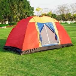 Koreyosh 8 Person Camping Tent 12.5ft Outdoor Hiking Dome Fa