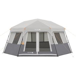 Ozark Trail 8-Person Instant Hexagon Cabin Tent, with Gear L