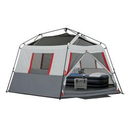 8 person instant hexagon tent with led