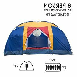 VILOBOS 6-8 Person Family Large Tent Outdoor Traveling Campi
