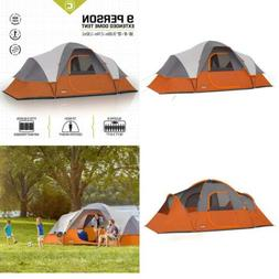 CORE Equipment 9 Person 16 x 9 Extended Dome Camping Tent -