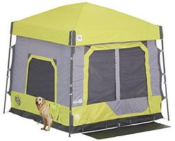 E-Z UP CC10ALLA Cube 5.4 popup Camping Tent, Limeade