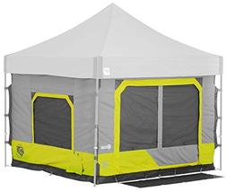 E-Z UP CC10SLLA Cube 6.4 popup Outdoor Camping Tent, Limeade