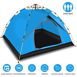 Cheryu Automatic Hydraulic Family Camping Tent,Portable and