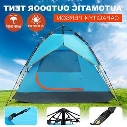 Automatic Outdoor Camping Waterproof 3-4 Person Folding Tent