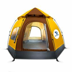 Automatic Pop Up Outdoor Hiking Camping Tent Waterproof UV P