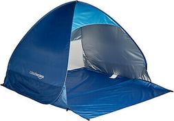 AmazonBasics Beach Tent Sets up in seconds / easy pop-up  li