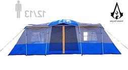Americ Empire Cabin Instant Tent with 3 Room XL . Huge Famil