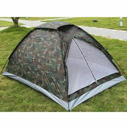Camouflage Camping Tent Portable Outdoor Ultralight Beach Hi