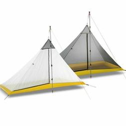 Camping Tent 1-2 Person 40D Nylon Silicon Coating Rodless Py