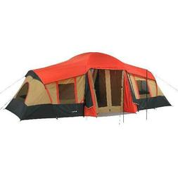 Camping Tent 10 Person 3 Room Family Hiking Instant Cabin La