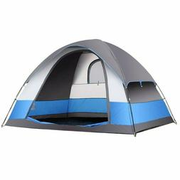 Camping Tent 5 Person Water Resistant 3 Season Dome Tent wit