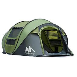 AYAMAYA Camping Tents 3-4 Person/People/Man Instant Pop Up E