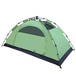 XY&CF 3-4 Camping Tents pop up Automatically for 3 Seasons,