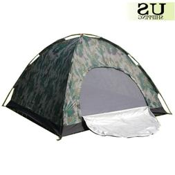 Camping Waterproof Outdoor 2 Person 4 Season Folding Tent Ca